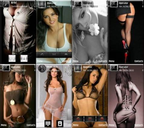Красивые эротические темы, с помощью которых Вы можете украсить свой телефо